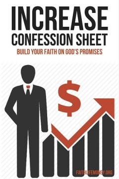 INCREASE confession sheet 1 smaller