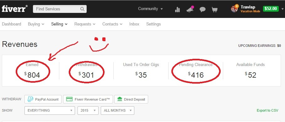 fiverr revenue screenshot 3a