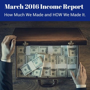 March 2016 Income Report b
